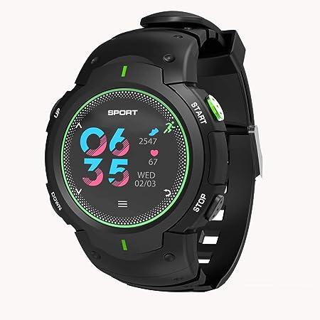 GGPUS Reloj Inteligente, Pantalla de Color Curvada 3D, Reloj ...