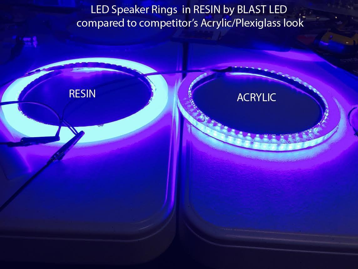 Blast LED JL M9 LED Speaker Light Ring - Pack of 9
