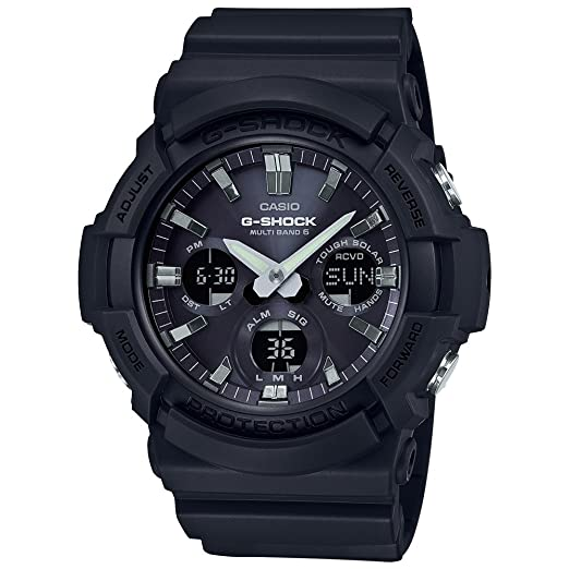 5217a68c734 Casio G-Shock GAW-100B-1AER Men Watch, Black: Amazon.co.uk: Watches