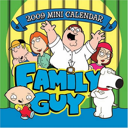 Family Guy 2009 Mini Calendar