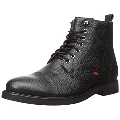MARC JOSEPH NEW YORK Men's Leather Luxury Laceup Lug Boot Ankle | Boots