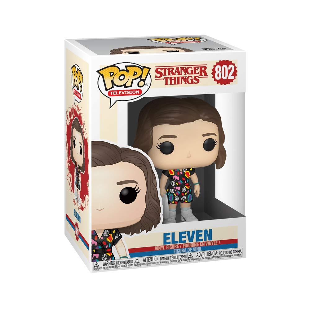 Funko- Pop Vinilo: Stranger Things: Eleven in Mall Outfit Figura Coleccionable, Multicolor (38536)