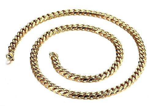 Amazon.com: MoAndy Collar de moda joyería de acero ...