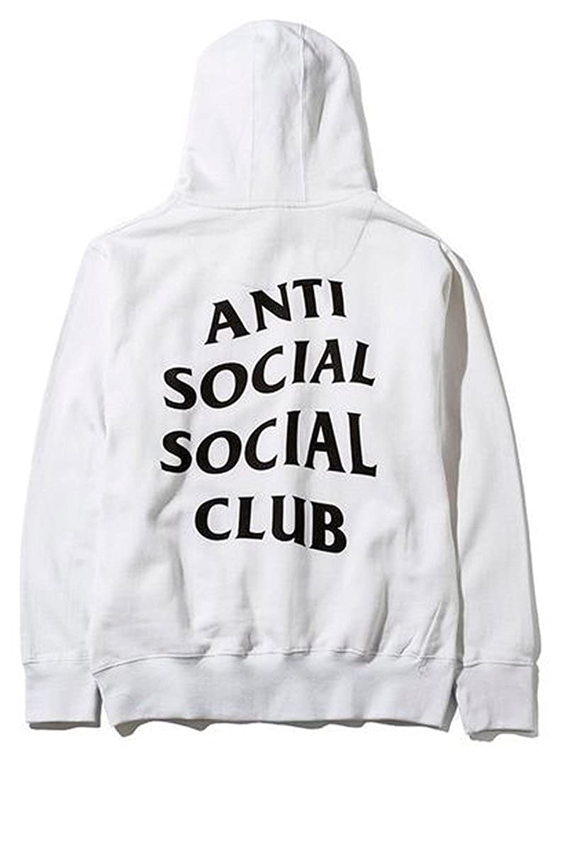 7ad947821366 Anti social social club hoodie in white
