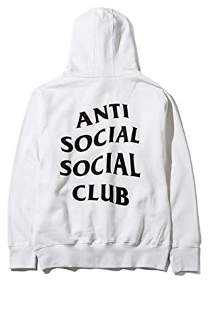 c98a06e7c6687 Anti social social club hoodie in white
