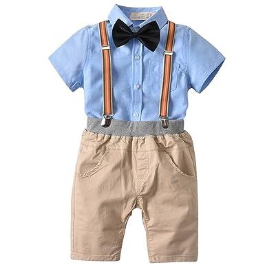 5ec748263 Bebone Baby Boy Tuxedo Children Summer Christening Suit  Amazon.co ...