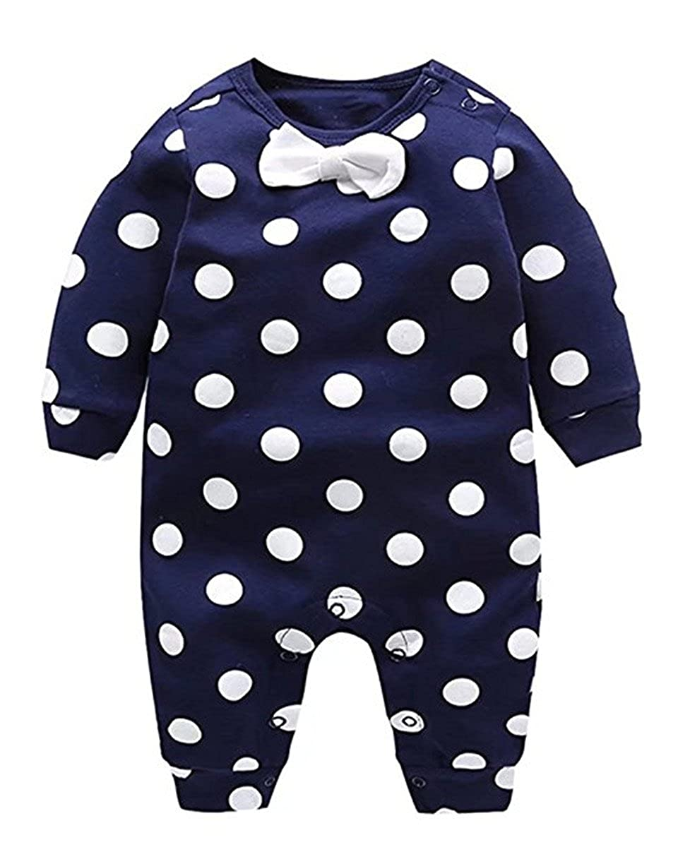 JELEUON Baby Girls Toddler 3 Pcs Polka Dots Pattern Ruffled Skirted Swimsuits Swimwear with Hat