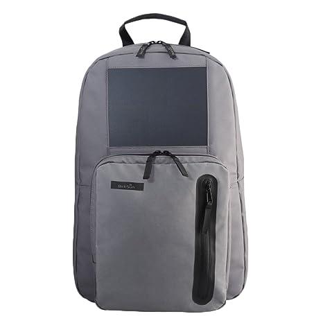BirkSun Boost 2 - Gunmetal Grey - Solar Backpack with 3 e20ca75dec0b7