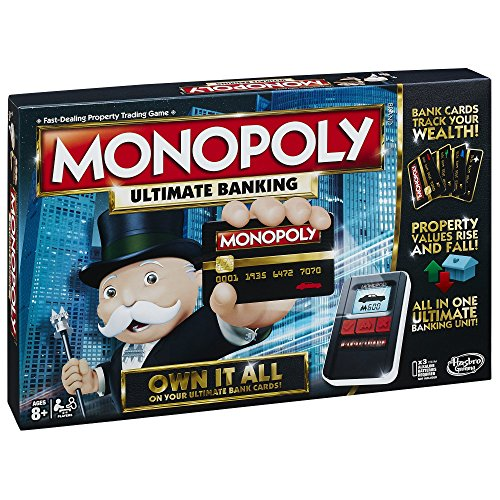 monopoly ultimate banking holidaygiftguide raindrops and. Black Bedroom Furniture Sets. Home Design Ideas