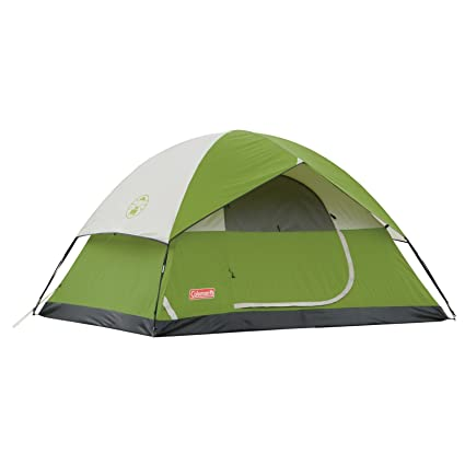ce93637e5fe Coleman Sundome 4-Person Tent, 9 feet x 7 feet (Green): Amazon.in: Sports,  Fitness & Outdoors
