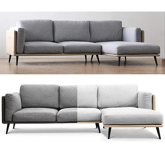 Amazon.com: Muebles pies de madera maciza sofá, armario ...