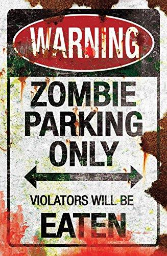 Gemmy (Sun Star) Metal Zombie Parking Sign