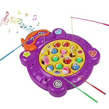 Juegos De Mesa Set De Pesca Juego De Mesa Ninos Electricos Musical