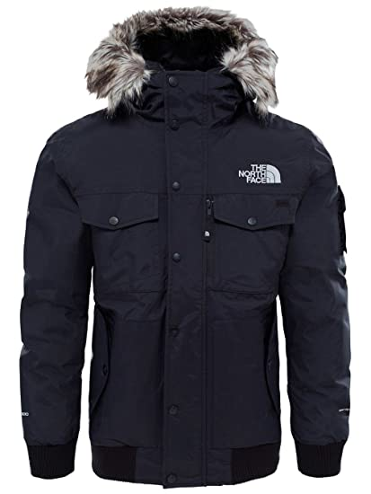 28f8e0f69 The North Face Hooded Bomber Jacket Black Size XL: Amazon.ca ...