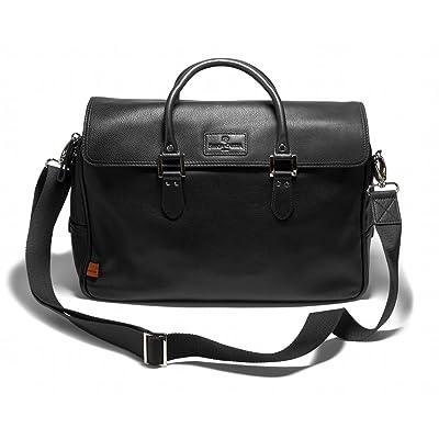 Simon Carter Lewes Leather Workbag ~ Black ~