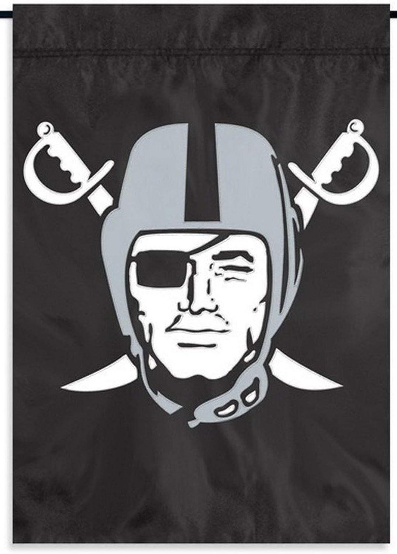 Party Animal Las Vegas Raiders Premium Garden Flag Applique Embroidered Outdoor House Banner Oakland Football