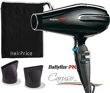 Babyliss Pro Seche Cheveux Caruso BAB6510IE Professionnel Ionic + Pochette De Transport