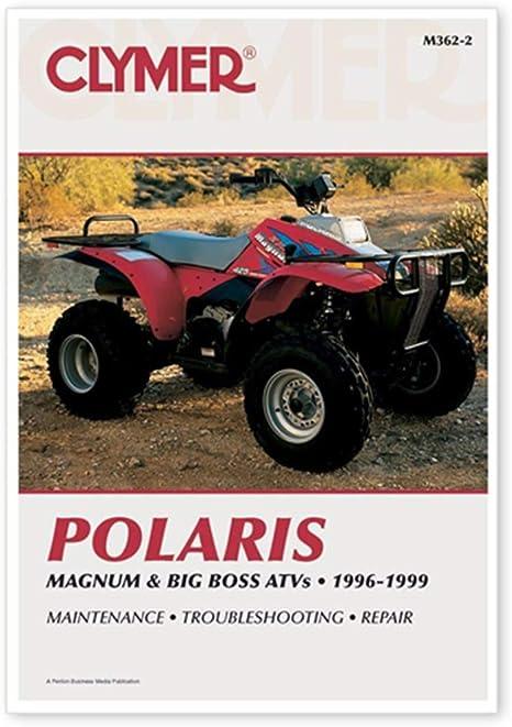 Amazon.com: Clymer Repair Manual for Polaris ATV Magnum Big Boss 96-99:  ElectronicsAmazon.com