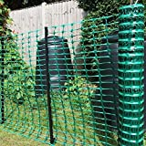 Houseables Snow Fence, Mesh Temporary