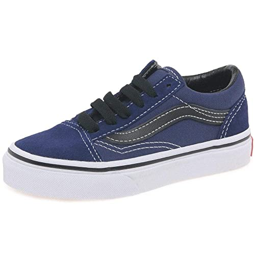 20e970b9f19b Vans Old Skool Youth -Spring 2018- Medieval Blue black  Amazon.it  Scarpe e  borse
