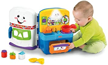 Amazon.com: Fisher-Price Laugh & Learn Learning Kitchen: Toys & Games