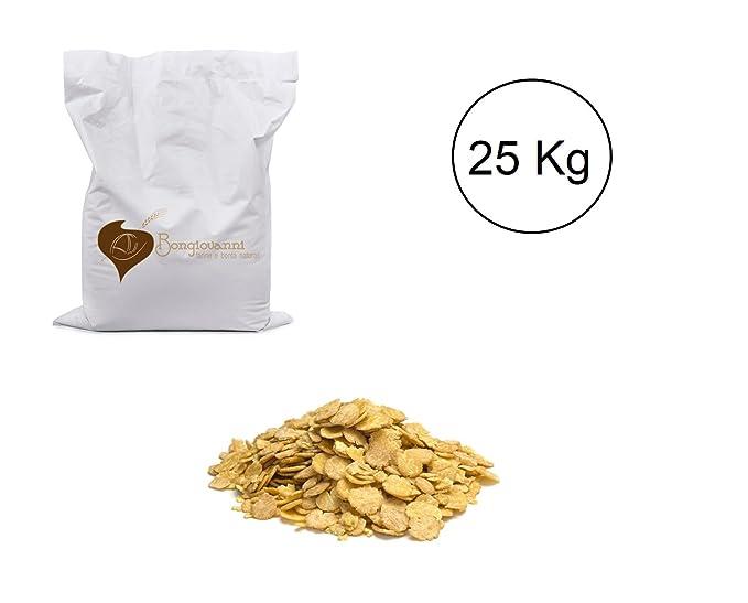 Copos de soja pelada 25 kg: Amazon.es: Alimentación y bebidas