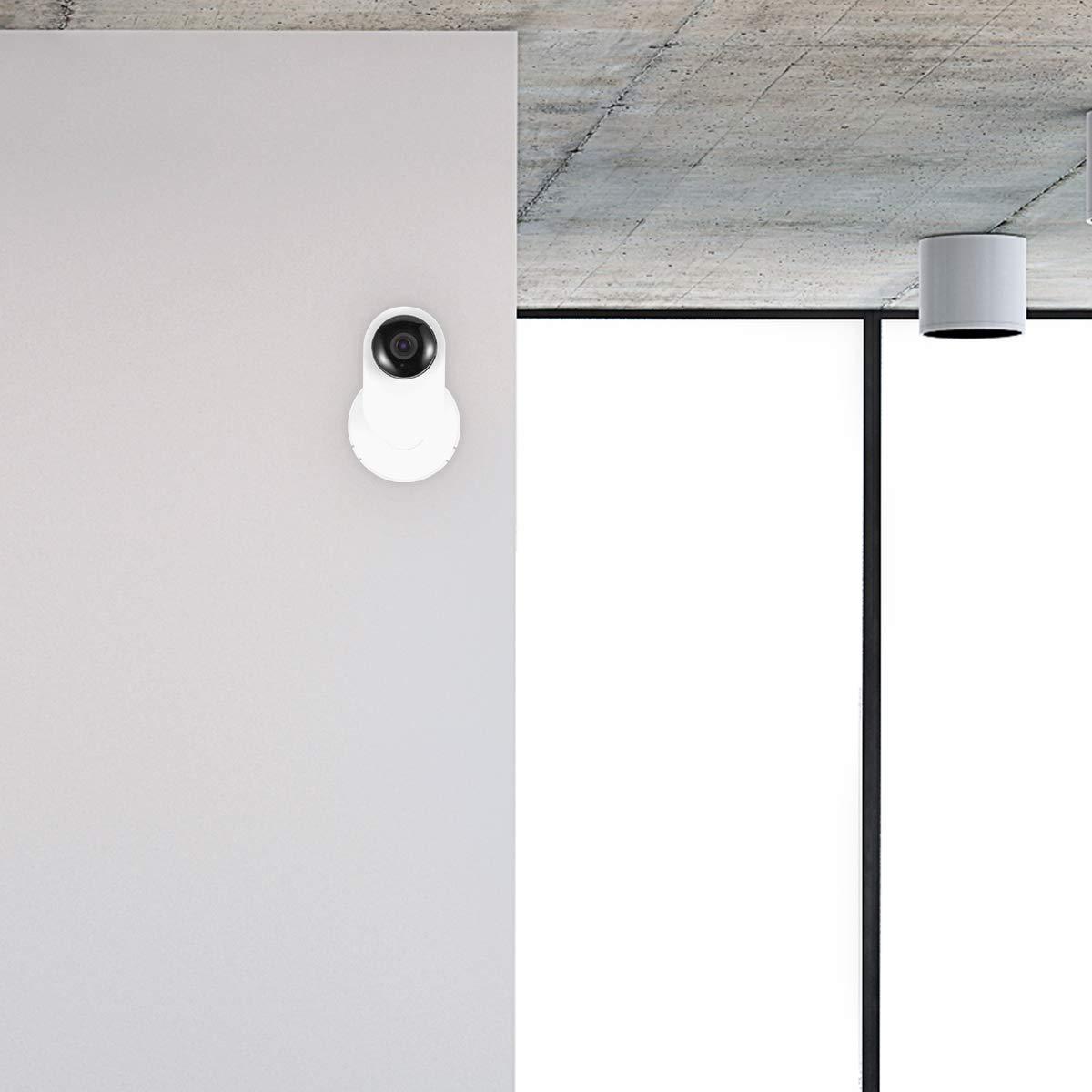Wall Mount for Yi Home Camera,LANMU Home Camera Wall Mount Stand Bracket for Yi Home Security Camera 360 Degree Swivel,Full Install Kit 3 Pack