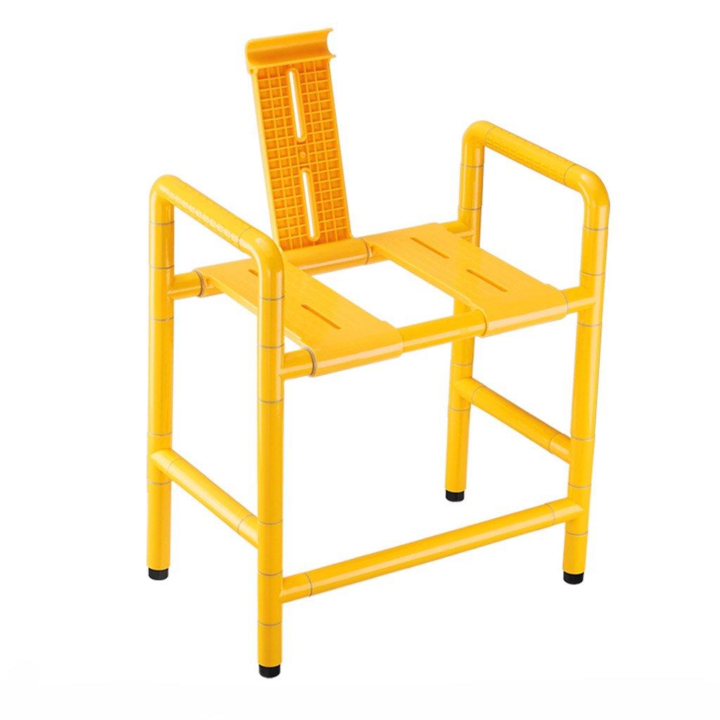 史上一番安い WSSF-* シャワーチェア 二重使用ステンレス鋼ナイロントイレの椅子浴室のトイレ高齢者の使用不可能な滑り止めの水着の色オプション、54* 31.5* 63.5cm 63.5cm WSSF- B07B7L5QHD, スマク:081db626 --- phpbb.bam-digital.de