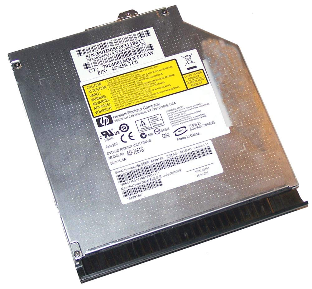 HP ELITEBOOK 6930P 8530P 8530W 8540P 8540W CD DVD Burner Writer ROM Player Drive