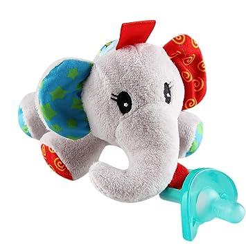 Amazon.com: QHGC - Chupetes para bebés (hipopótamo/helado ...