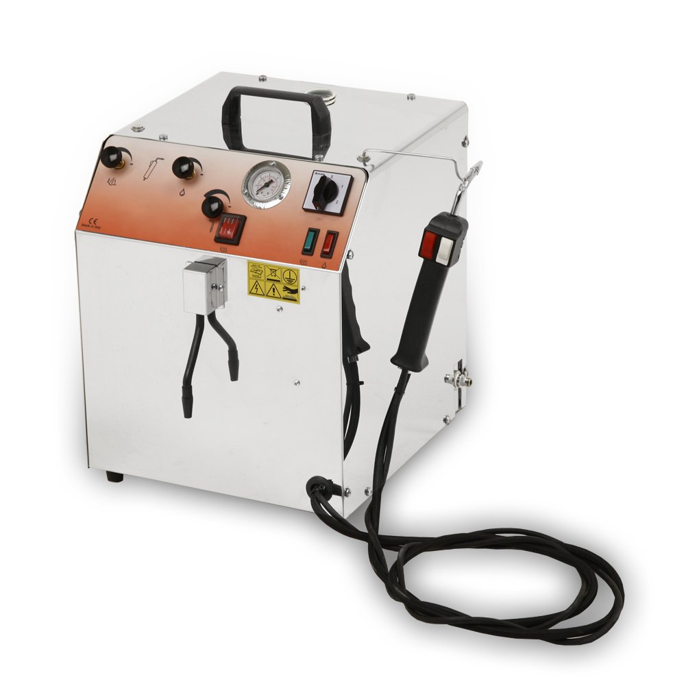 EOLO Professional steam generator for cleaning, sanitizing. Automatic refilling LP02CRA 230 Volts (on request 110-120 Volts)