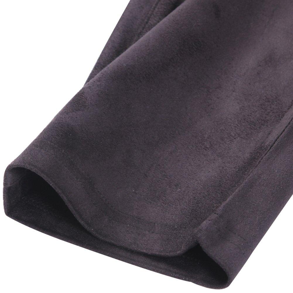 KELLY KLARK Leg Dress Pants Women Pants Leggings Faux Suede S-XXL