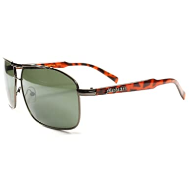 2769f1938 Image Unavailable. Image not available for. Color: Lens Modern Rectangle  Mens Womens Aviator Sunglasses