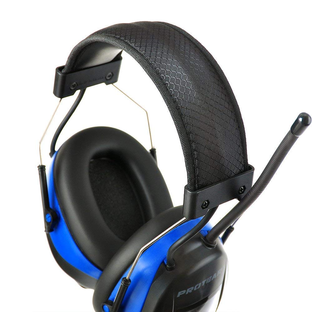 PROTEAR Bluetooth Noise Reduction Wireless Earmuffs AM FM Digital Radio with Rechargeable Lithium Battery, NRR 25dB Professional Ear Hearing Protection Electronic Headphones with a Carrying Case by PROTEAR (Image #5)