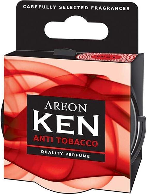 Areon Ken Lufterfrischer Dose Auto Duft Anti Tabak Autoduft Duftdose Wohnung Erfrischer 3d Set Anti Tobacco Pack X 3 Auto