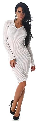 Voyelles -  Vestito  - Astuccio - Basic - Maniche lunghe - Donna