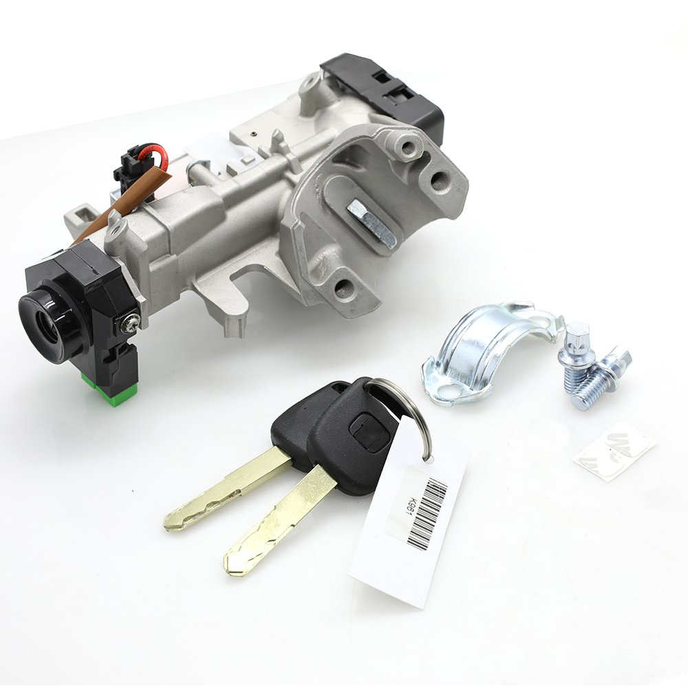 Amazon.com: Ignition Switch Cylinder Lock with 2 Keys for 2003 2004 2005  Honda Civic Auto Transmission Replace # 35100-S5A-A82: Automotive