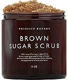 Brooklyn Botany Brown Sugar Body Scrub - Great as a Face Scrub & Exfoliating Body Scrub for Acne Scars, Stretch Marks…