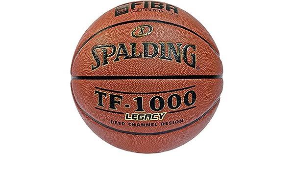 Spalding TF 1000 Legacy FIBA - Balón de baloncesto Talla:5: Amazon ...