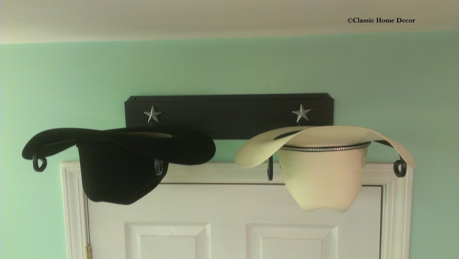 Mark Christopher Collection Cowboy Hat Holder STAR BLK American Made Classic Home Decor 666 STAR BLK
