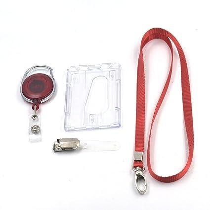 Uno Set Lanyard + Clip de tarjeta de ID Badge Holder + ...