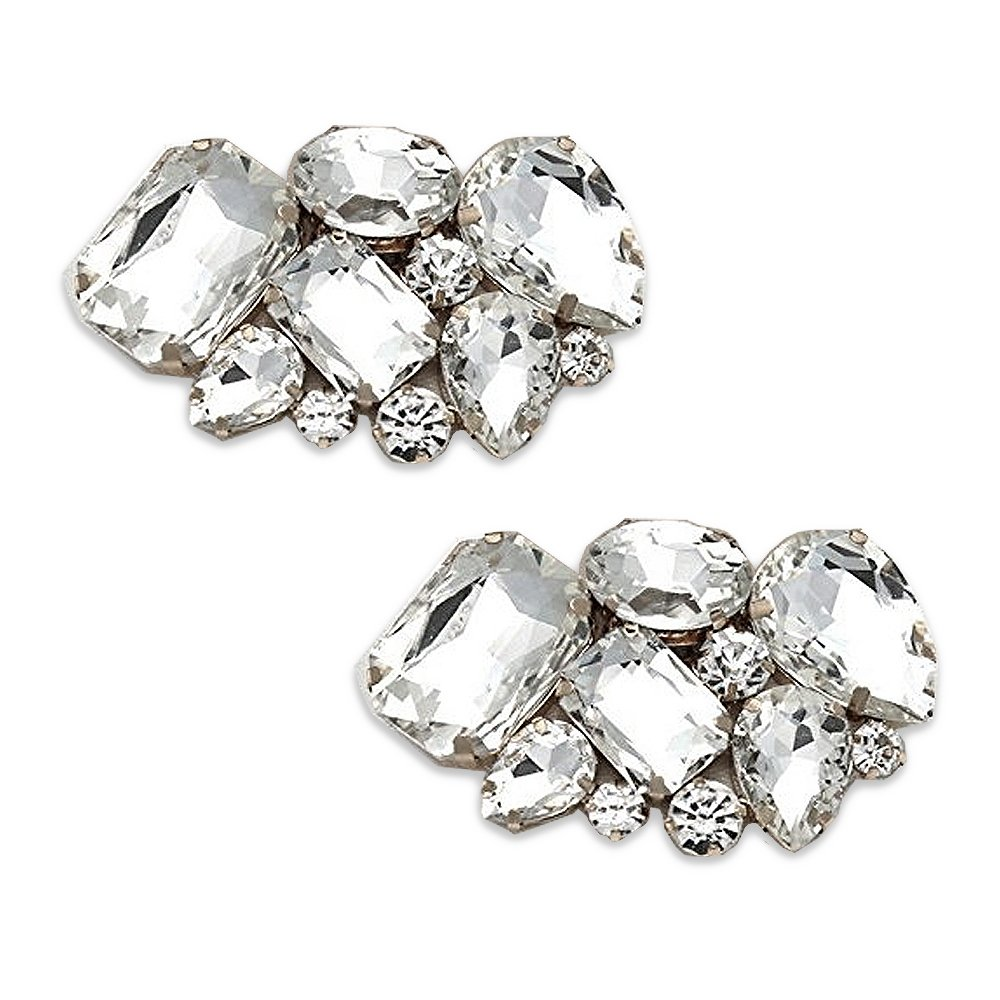 Absolutely Audrey Shoe Clips Vienna Crystal