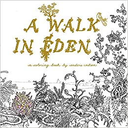 A Walk In Eden Colouring Book By Anders Nilsen 9781770462663 Amazon Books