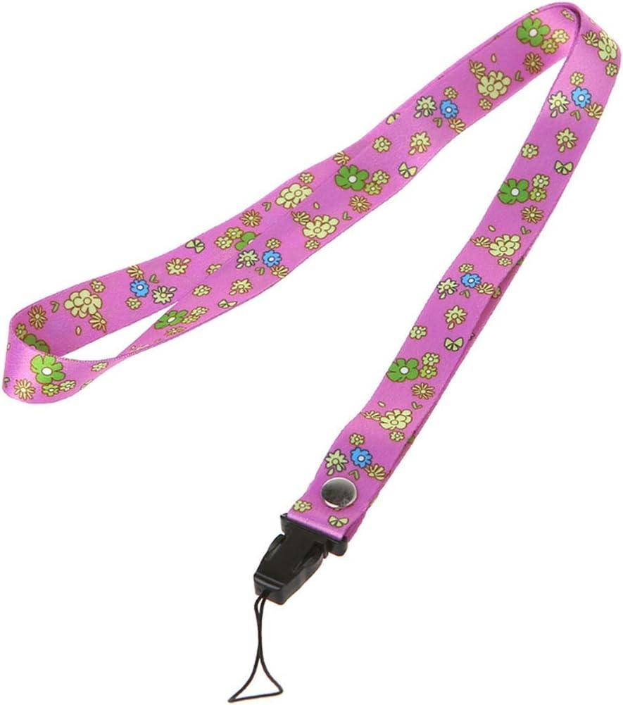Small Fresh Leaves Neck Strap Lanyards Mobile Phone USB Keys Straps Hang Rope DXAC,4NB400317-17