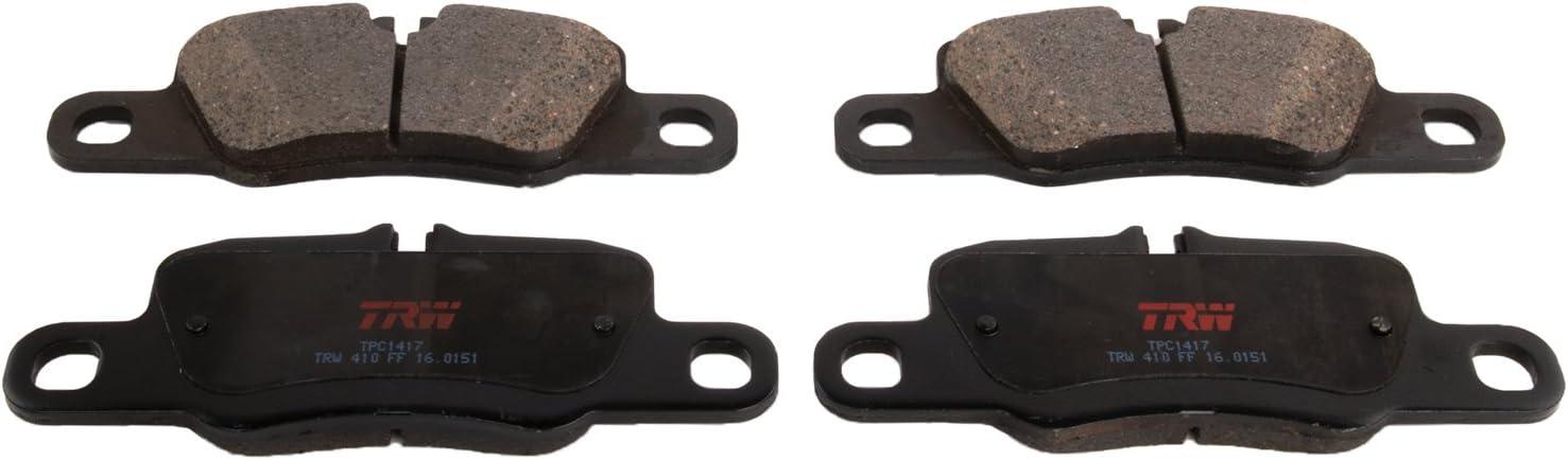 TRW TPC1417 Premium Ceramic Rear Disc Brake Pad Set