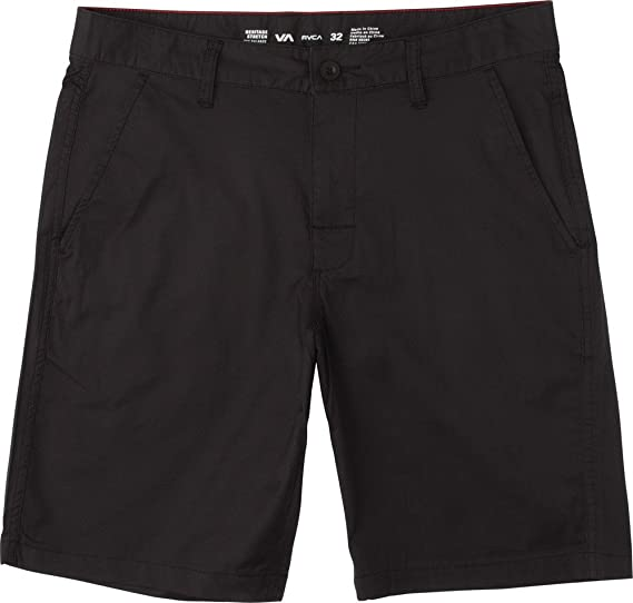 55c9119dd9 Image Unavailable. Image not available for. Color: RVCA Weekend Hybrid  Shorts Black ...