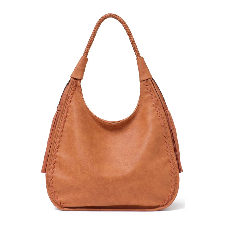 Chibi-store Brand Hobo Bag Women Handbags Shoulder Large Female Faux Leather Tassel Big Totes Ladies