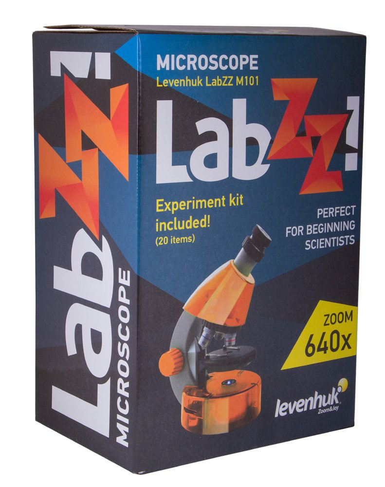 Levenhuk LabZZ M101 Amethyst Microscope for Kids with Experiment Kit by Levenhuk (Image #4)