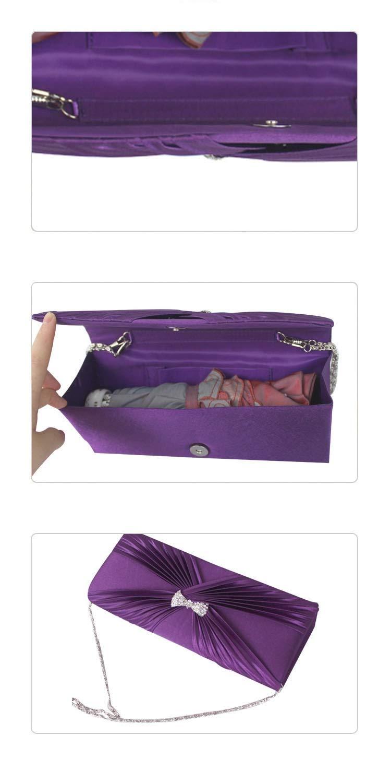 Brautmoden Abend Abend Abend Handtaschen,Klassisch Satin Clutch Bag In Ihrem Zuhause Am Abend Prom Am Abend Bag Für Liebhaber Feiertage-D 25x10cm(10x4inch) B07GRYCF42 Clutches Online-Shop 2554ce