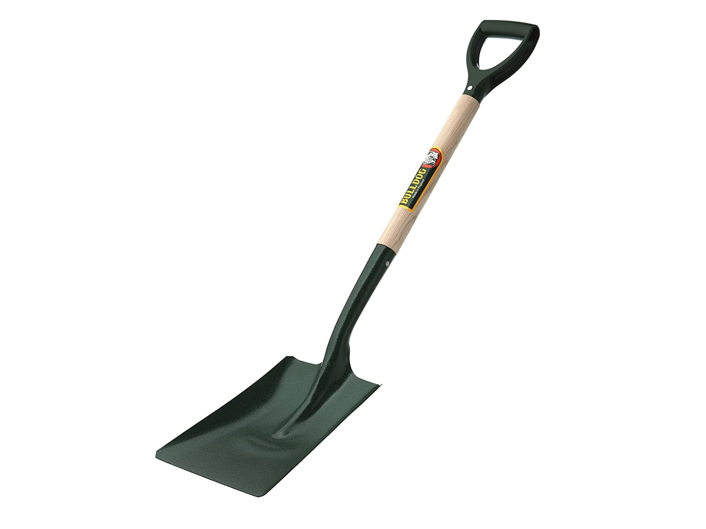 Bulldog 2SM2PD Open Socket Square Shovel Toolbank BUL2SM2PD Gardening Digging